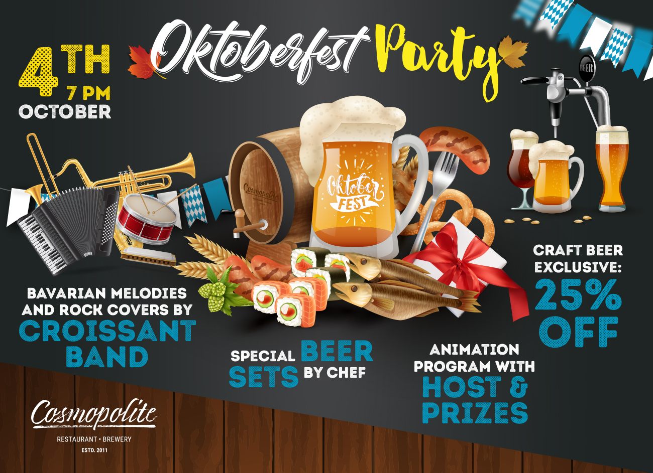 Oktoberfest Party at Cosmopolite!