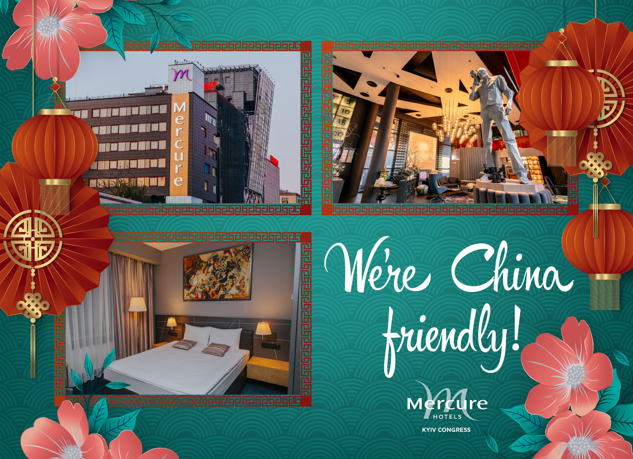 Mercure Kyiv Congress: We're China friendly!