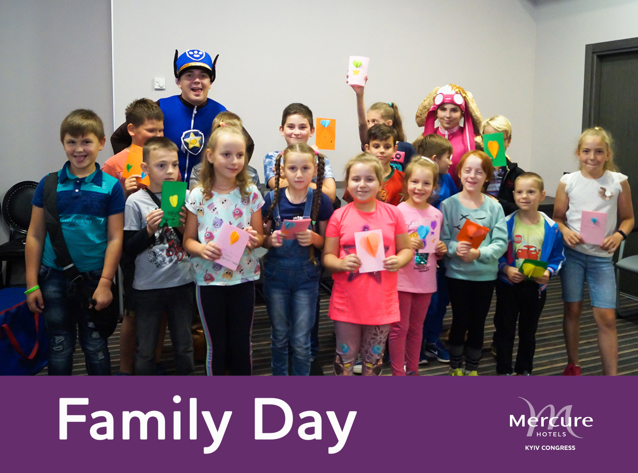 Family Day at Mercure Kyiv Congress