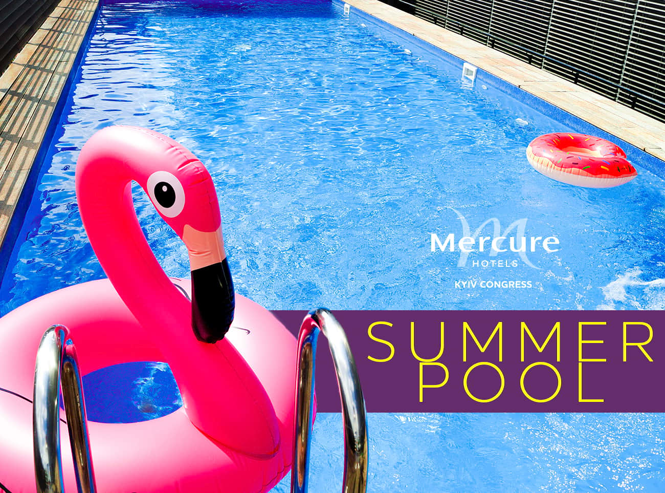 Summer pool is already available