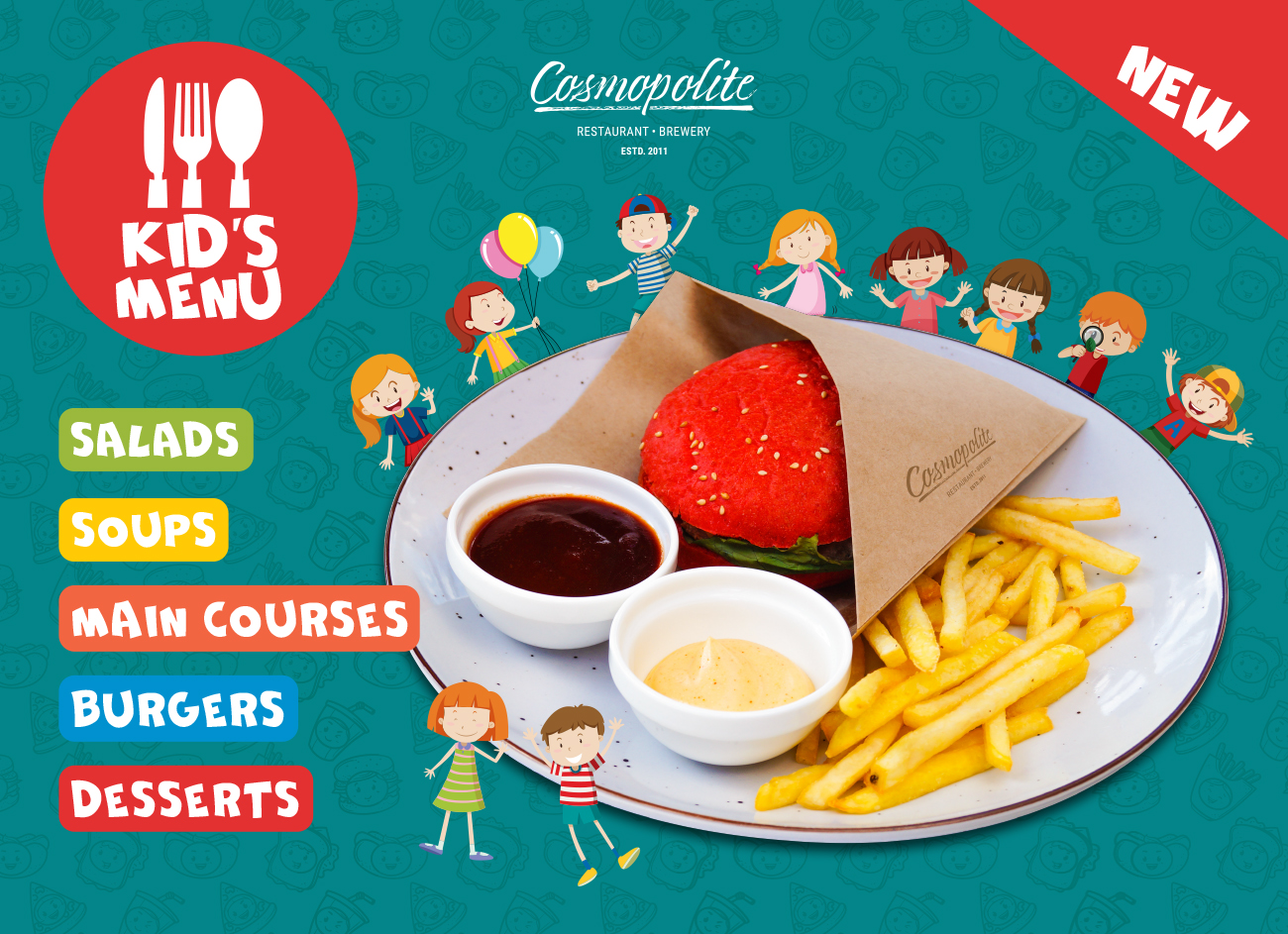 All-new Kids' Menu is already available!